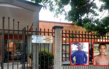 Wadiht Francisco Basilio Vargas, de 36 años, administrador de la finca La María; y Eider Alberto Álvarez Paternina, de 28, quien fungía como jornalero.
