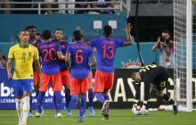 Brasil 2, Colombia 2: un empate emocionante