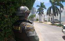 Este es el barrio Casa Blanca en donde reside el empresario samario Elkin Javier López.