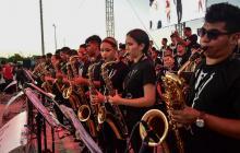 Música frente al río para celebrar los cinco años de la Banda Distrital de Casas de Cultura