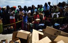 Se calcula que unas 70.000 personas se quedaron sin hogar.