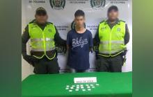 Iván Victorino Sinning Blanco, capturado.