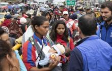 Ecuador dará permiso de tránsito para venezolanos con visa hacia otro país