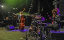 Jazz de Colombia, Suiza y Francia sonó en la calle