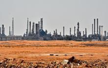 Instalaciones petroleras en Arabia Saudita.