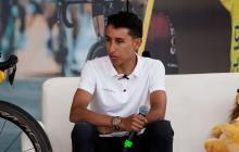 El último ganador del Tour de Francia, el colombiano Egan Bernal.