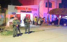 En medio de persecución policial, sujetos activan artefacto explosivo que deja seis heridos