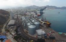 Instalaciones del Puerto de Santa Marta