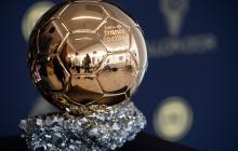 Trofeo del balón de oro.
