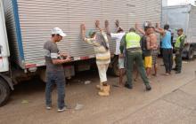 Policía capturó a ocho personas en intervención al Centro Histórico