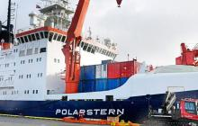 "El rompehielos ""Polarstern"" del instituto Alfred Wegener de Bremerhaven."