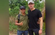 Capturan a 'Nandito', uno de los 'Rastrojos' que se tomó foto con Guaidó