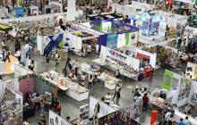 Panorámica de la II Feria Internacional del Libro de Barranquilla, Libraq.