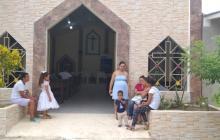 Así está hoy la iglesia de San Rafael en Chinulito.