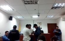 Vista de la audiencia de verificación de allanamiento por el crimen del ganadero Juan Felipe Ustáriz.