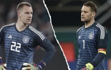 Psicodrama en el arco de Alemania, con Neuer y Ter Stegen de protagonistas