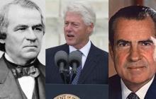 Antes de Trump, otros tres presidentes enfrentaron procesos de destitución