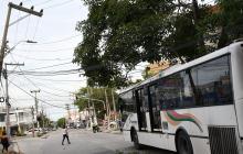 En video   Reportan poste de energía a punto de caer en La Concepción