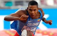 El colombiano Chaverra pasa a semifinales del Mundial en 110 m vallas