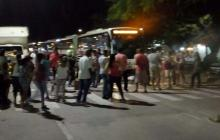 En video | Protestas en La Ciudadela 20 de Julio, Galán y Boston por falta de luz