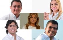 Candidatos a la gobernación del Atlántico.