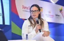 Cecilia Baena, expatinadora y hoy directora de los Juegos Nacionales y Paranacionales de Bolívar.