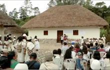 La inauguración en Nabusímake.