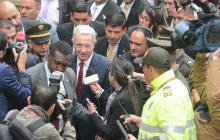 En video | Se reanuda indagatoria contra Uribe en la Corte Suprema