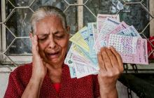 El marido le dejó deudas con 45 cobradiarios por $14 millones