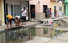 Los habitantes de la zona han presentado varias quejas.