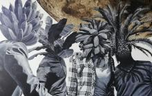 La obra de Limán Zuñiga se direcciona hacia temáticas sobre memoria, identidad y territorio caribe.
