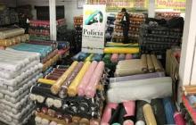 Policía y Dian decomisan contrabando textil en San Roque
