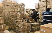 Dian aprehende mercancía de contrabando por $4.500 millones