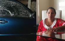 """""""La bala me pasó por el rostro"""": lideresa wayuu víctima de atentado"""