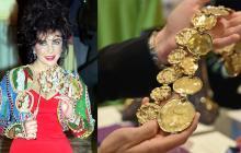 Varias de las prendas fueron usadas por la actriz en presentaciones y películas.