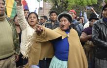 Sindicatos oficialistas se movilizan en apoyo a la reelección de Evo Morales