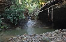 El Chorro de San Luis, situado a cuatro kilómetros del casco urbano de Tubará, lugar donde murió ahogado el menor.