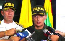 General Mariano Botero Coy, comandante de la regional #8 de la Policía.