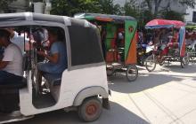Bicitaxistas y vendedores de raspados se hacen su 'agosto' en elecciones en Ciénaga