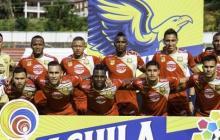 Las Águilas Rionegro buscan asegurar la permanencia en la primera división del fútbol colombiano.
