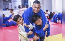 Los tres Juanes, la sangre del judo en el Atlántico