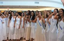 Los hechos ocurrieron durante la presentación oficial de las 22 candidatas aspirantes a la corona.