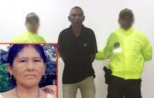 Édgar Tobías Amaya, 56 años, es el primer condenado por feminicidio en La Guajira. En el recuadro, Patricia María Uriana.
