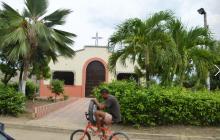Iglesia de la Ascensión, en donde Chadid estuvo de párroco.