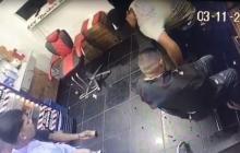 En video   Con unas tijeras intentó defenderse de un ladrón y resultó baleado en una peluquería