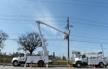 Los trabajos mantendrán diferentes circuitos sin energía.
