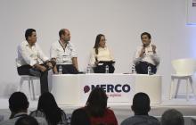 Lucas Ariza, Pedro Pablo Jurado, Paula Cruz y Roger Rodríguez.