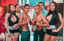 El boxeador cordobés José Soto (izquierda) busca su triunfo número catorce.
