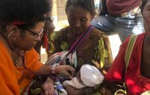 La tragedia guajira de morir recién nacido