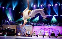 B-boy Menno, ganador del mundial.